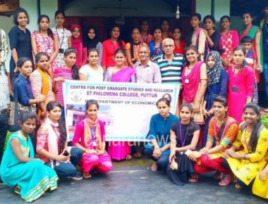 PG Dept. of Economics, SPC Puttur organized Field Study Programme