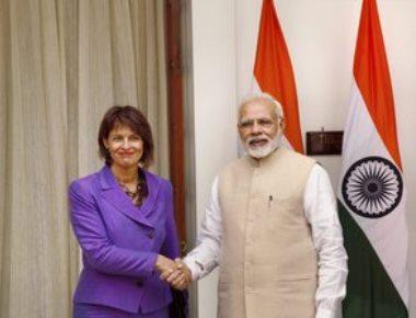 Modi, Swiss prez hold talks on bilateral, regional, global issues