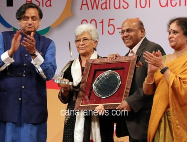 Veteran Journalist Activist Kamla Bhasin today awarded Lifetime Achievement Award today
