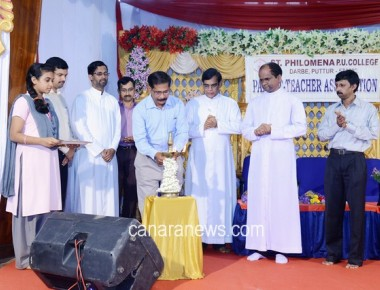 Inauguration and AGM of PTA held at St Philomena PU College Puttur