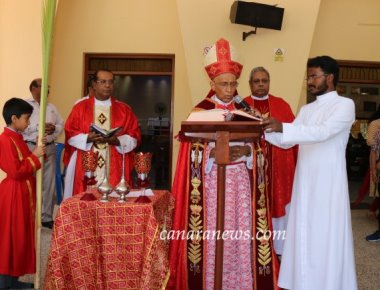 Dr Moras Urges All To Welcome Jesus With Clean Hearts