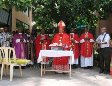 Archbishop Moras Urges All to Reflect on the mystery of Palm Sunday