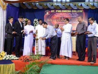 Science Fest 'Avishkar 2016' held at St Philomena College Puttur