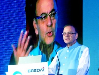 Arun Jaitley at CREDAI Bankcon 2015