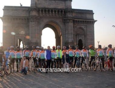 Kashmir to Kanyakumari - Swachh Bharat Tour de Rotary
