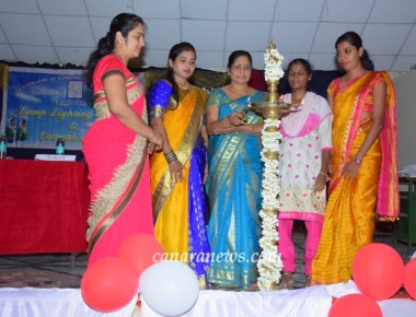 Lamp lighting &oath taking ceremony at S.C.S. college of nursing sciences