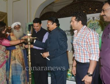 Rally for Rivers event and Plantation Conclave held at Raj Bhavan Mumbai