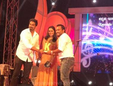 Prajoth D'sa bags KIMA award!