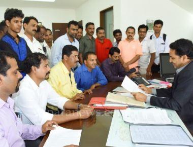 Media persons in Uppinangady-Mangaluru condemn attack on journo