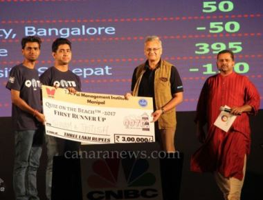Grand finale of 14th edition of Quiz on the Beach held