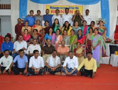 Reunion of 1990-91 B.Com Batch at St Philomena College Puttur