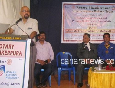Rotary Shankerpura organizes monthly free Psychiatric Camp at Shankerpura