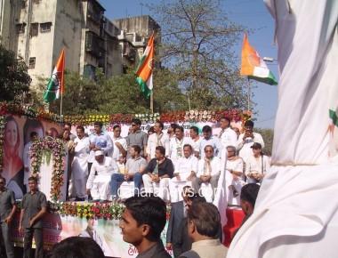 Rahul Gandhi in Mumbai
