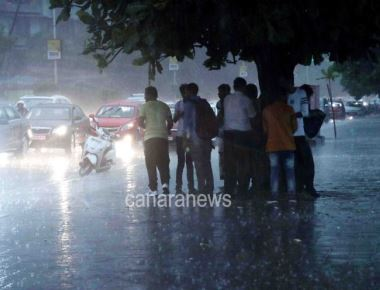 Heavy Rain in Mumbai today evening