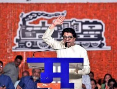 Raj plays victim in first rally