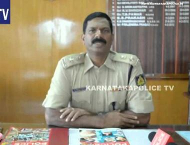 Rajendra prasad.is the new Superintend of Police of  Udupi District