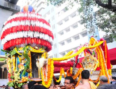 Shri Rama Navami and Brahma Rathothsava Celebration at Shri Rama Mandir, Wadala
