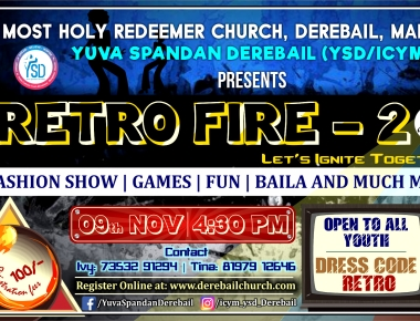 Yuva Spandan Derebail to hold Retro Fire 2019