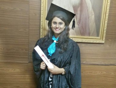 Rithika Ashwin Shetty awarded at the ICSI Convocation ceremony