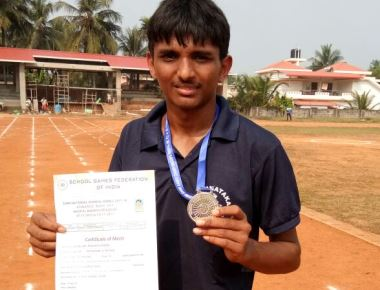 Milagres High School Pockets Silver and Bronze Medals at National Level