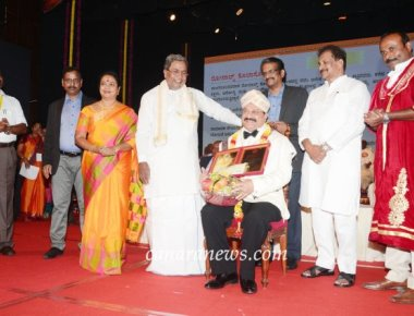 Ronald Colaco a Non-Resident Indian Businessman, A  Social Worker Received Karnataka Rajyotsava Award