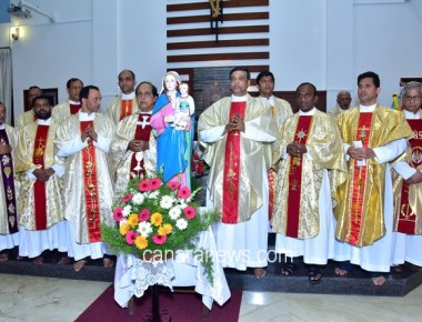St Anthony's Jeppu celebrates feast of Rosary