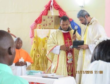 The feast of St. Martin of Tours, the patron saint of Mpandagindo parish was celebrated at Songea, Tanzania