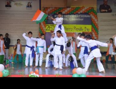 Republic Day Celebration at Ryan International School
