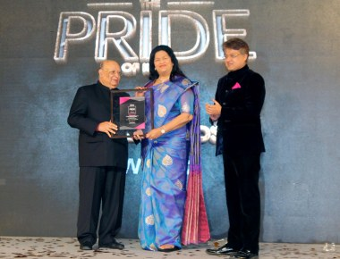 Pride of India – Woman of the year  for  Madam Grace Pinto