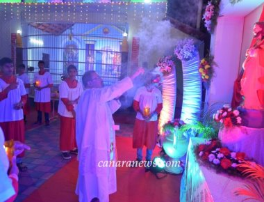 Sacred Heart of Jesus Church, Madanthyar celebrates Vespers Day