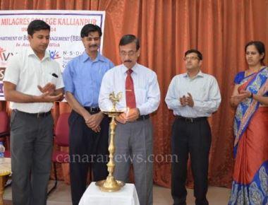 Skill Development Programme at Milagres College, Kallianpur