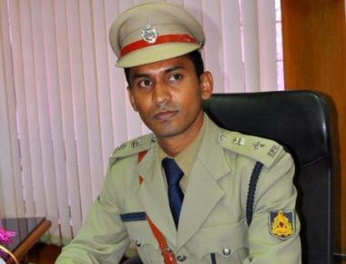 The Superintendent of Police Dr. M. B. Boralingaih of Udupi District Transferred.