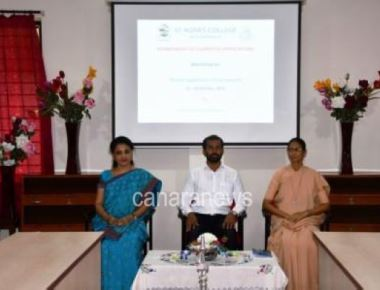 St Agnes College(Autonomous) inaugurates Six-day workshop on Mobile App Development