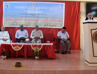 Icssr Sponsored Two Day National Conference On Agrarian Distress And Environmental Issues And Policies