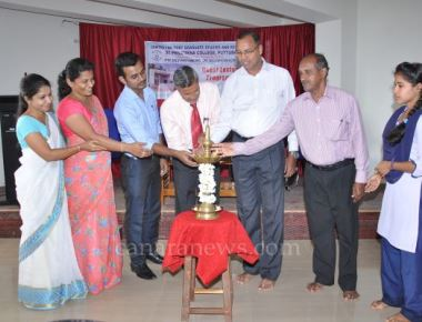 Inaugural function of Planning Forum held at St Philomena College Puttur
