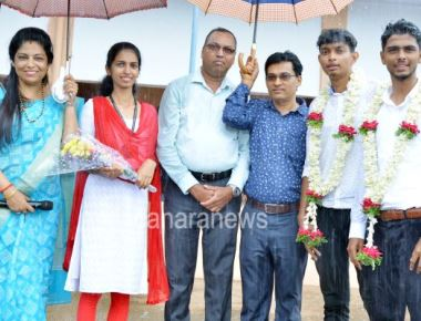 Students' Council Election held at St Philomena college Puttur