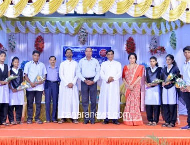 Welcome Programme at St Philomena College Puttur