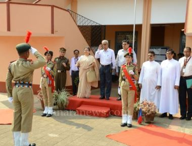 Reception to NAAC Peer Team at St Philomena College Puttur