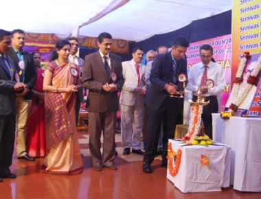 Prize distribution held at Srinivas Campus, Merlapadav