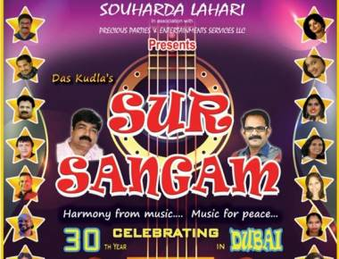 Das Kudla's Multing- Lingual Mega Musical Extravaganza 'Sur Sangam' to Enthrall Music Fans on July 6th in Dubai