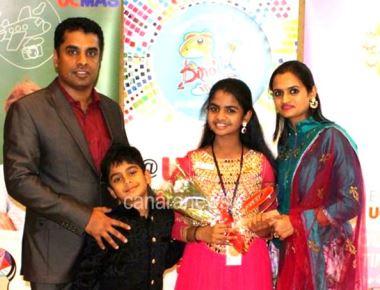 Mangalurean Student Sanvi Kiran Rai bags  'Sh. Hamdan Award' in Dubai