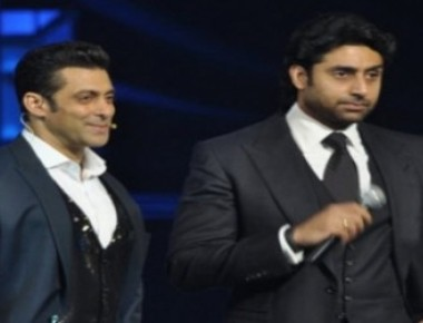 When Salman hugged Abhishek!
