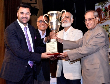 Former President of India Presents Samson Daniel Award to Ryan International Group of Institutions