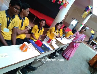 Science Exhibition at Anandathirtha Vidyala