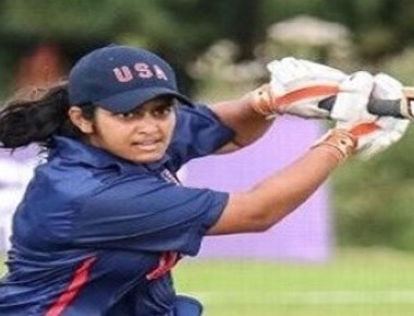 Shebani Bhaskar is leading USA cricket team