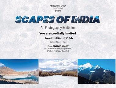 Award winning photographer Shiv Gandhi's maiden exhibition to be held in Bengaluru