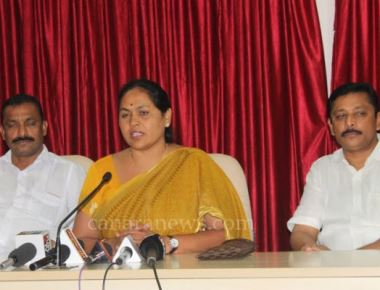 State Government should take immediate steps to overcome drinking water shortage - Shobha Karandlaje MP