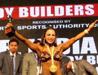 Shweta Rathore bags gold medal and miss india for the second time in sports physique category