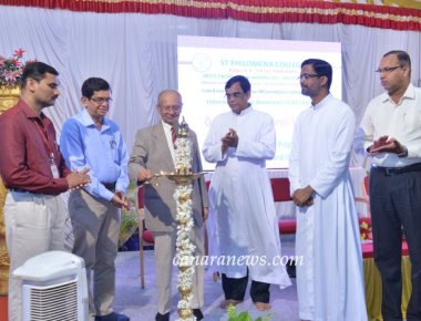 National Seminar on 'E-Resources, Intellectual Property Rights and Plagiarism-Issues and Challenges' held at St Philomena College Puttur