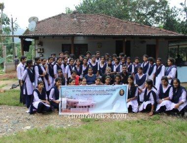 Farm Visit Programme organized by PG Dept of Economics of SPC Puttur